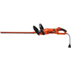 BLACK+DECKER 24-in Corded Hedge Trimmer with Rotating Handle