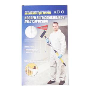 ADO Products XL Breathable Hooded Suit