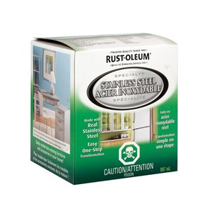 Rust-Oleum 887mL Specialty Stainless Steel Paint