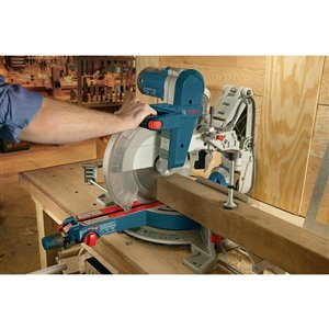 Bosch Glide 12-in 15-Amp Dual Bevel Sliding Compound Corded Miter Saw