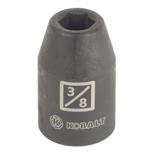 Kobalt 1/2-in Drive 6-Point Standard 3/8-in Shallow Impact Socket