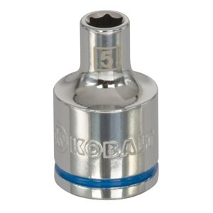Kobalt 3/8-in Drive 6-Point Metric 5mm Shallow Socket