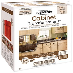 Rust-Oleum Exterior Gloss Light Cabinet Transformation Kit