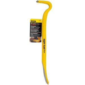 Stanley Stanley 55-101 Yellow 14inch High-Carbon Steel FatMax Wrecking Bar