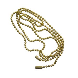 Harbor Breeze 3-ft Beaded Brass Pull Chain