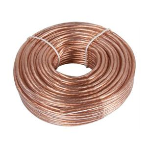 Zenith Zenith 50-ft 14-Gauge 1-Conductor Standard Speaker Wire (By-the-Roll)