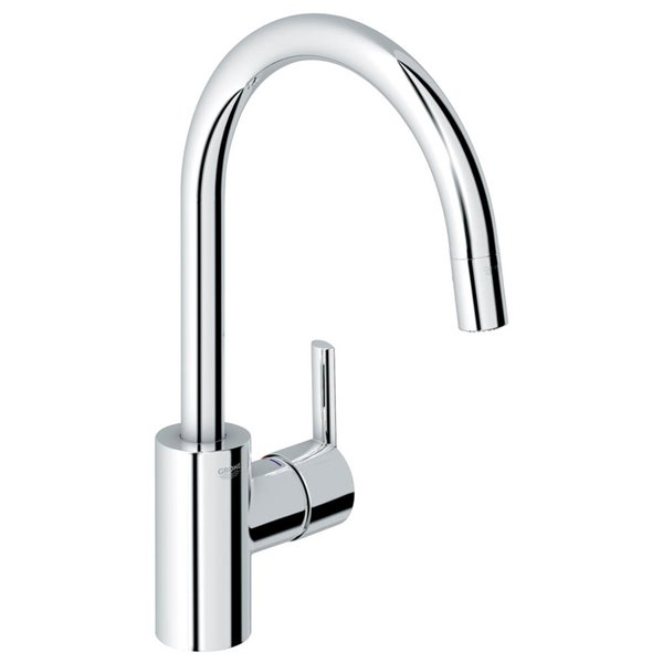 Grohe Feel Starlight One Handle Pull Down Kitchen Faucet Lowe S Canada