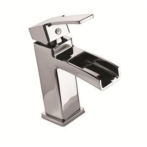 Pfister Kamato Polished Chrome 1-Handle Single Hole 4-in Centerset WaterSense Bathroom Sink Faucet with Drain (Valve Included)