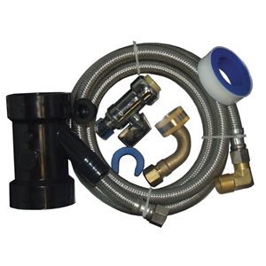 60-in L. Dishwasher Installation Kit for Pipe - For Copper, CPVC and PEX