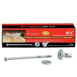 #0 Silver ThruLOK Structural Wood Screws