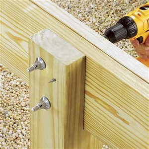 FastenMaster #0 Silver ThruLOK Structural Wood Screws