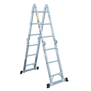 Werner 12-ft Type 1A - 300 lbs. Capacity Aluminum Multi-Position Ladder