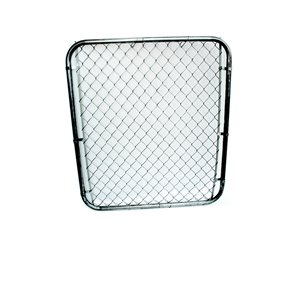60-in x 40-in Galvanized Steel Chain-Link Walk-thru gate