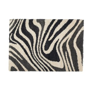 Cam of America Madagascar Rectangular Zebra Accent Rug