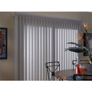 Levolor Cordless Vertical Blind Headrail Lowe S Canada