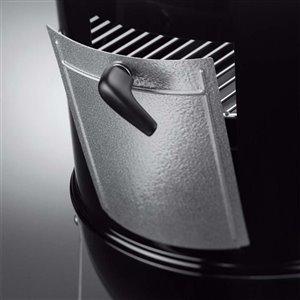 18.5-in Black Vertical Smoker