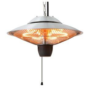 EnerG+ Hanging Patio Heater - 5 115 BTU - Silver Aluminum