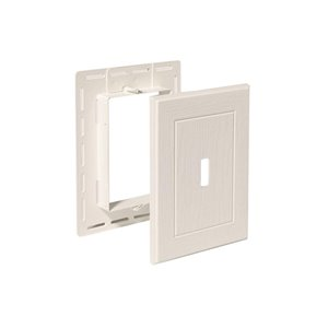 7-in x 5.25-in White Standard Mount Mounting Block