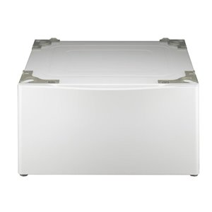 LG 13.6-in Laundry Pedestal (White) (WDP4W)