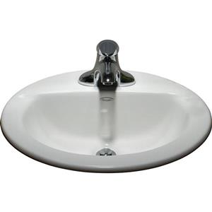 American Standard Topmount Oval Bathroom Sink