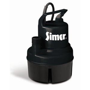 Simer 1/6 HP Submersible Utility Pump