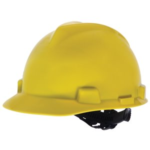 Safety Works Yellow Hard Hat