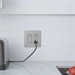 Legrand 1 15 Amp Nickel Decorator Light Switch