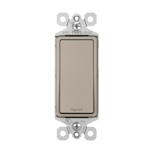 Legrand 1 15 Amp Nickel 3-Way Decorator Light Switch