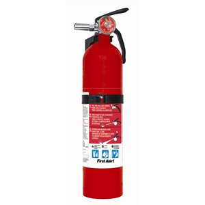 First Alert 2.5-lb Rechargeable Multi Purpose Fire Extinguisher