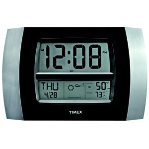 AcuRite Wireless Atomic Digital Clock with Thermometer