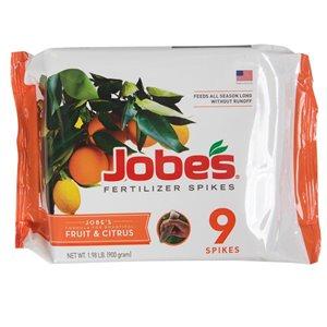 Jobe's Citrus Tree Fertilizer Spikes (9-Pack)