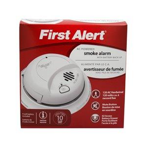 First Alert AC Hardwired 120-Volt