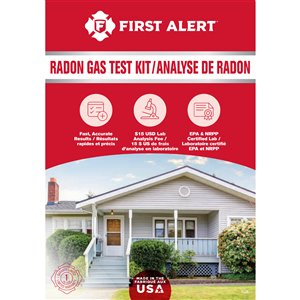First Alert Radon Test Kit