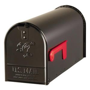 6-7/8-in x 8-3/4-in Post Mount Mailbox