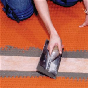 Schluter Systems 5-in x 16.416-ft Orange Kerdi Band Tile Membrane