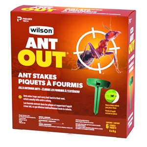 Wilson Ant Out 0.63-oz Ready-to-Use Ant Killer Stakes (6-Pack)