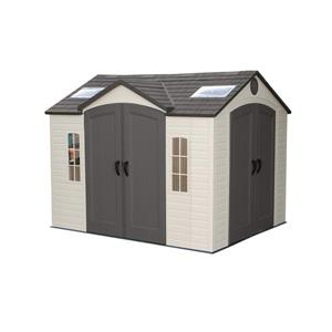 LIFETIME PRODUCTS 10-ft x 8-ft Resin Storage Shed