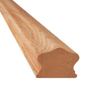 2-1/4-in x 8-ft Oak Handrail