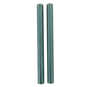Portfolio 2-Pack 0.375-in x 6-in Nickel Pipe Lamp Pipe