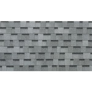 IKO Cambridge 33.3-sq ft Dual Grey Laminated Architectural ...