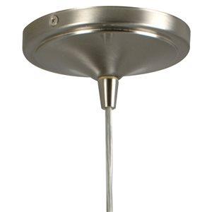 Portfolio Nickel Mix and Match Mini Pendant Light