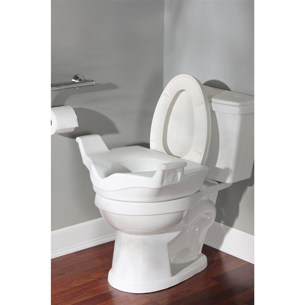 Superb Moen Home Care Elevated Toilet Seat Bralicious Painted Fabric Chair Ideas Braliciousco