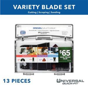 Dremel Multi-Max 14-Piece Oscillating Tool Accessory Kit