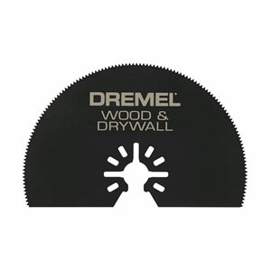 Dremel Multi-Max 3-in Wood and Drywall Flat Saw Oscillating Tool Blade