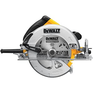 DEWALT 15 Amp 7 1/4-in Lightweight Corded Circular Saw with Electric Brake