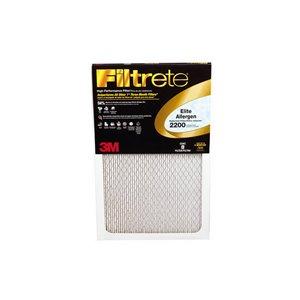 3M 16-in x 25-in x 1-in 200 MRP Allergen Defense Electrostatic Pleated  Air Filter