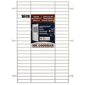 Mr. Goodbar 27-in x 36-in Back Door Window Security Bar (White)