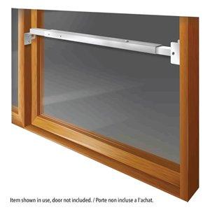Mr. Goodbar 5-in x 22-in Patio Door Window Security Bar (White)