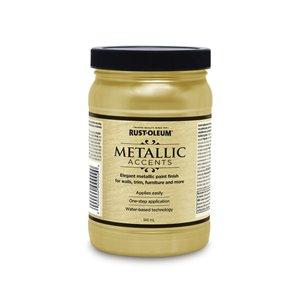 Rust-Oleum Rust-Oleum 264567 946mL Luminous Pear Metallic Accents Water Based Latex Paint