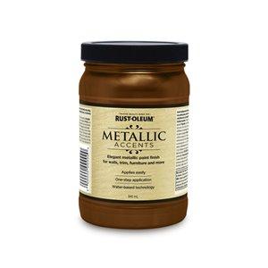 Rust-Oleum 32 fl oz Metallic Latex Interior/Exterior Paint